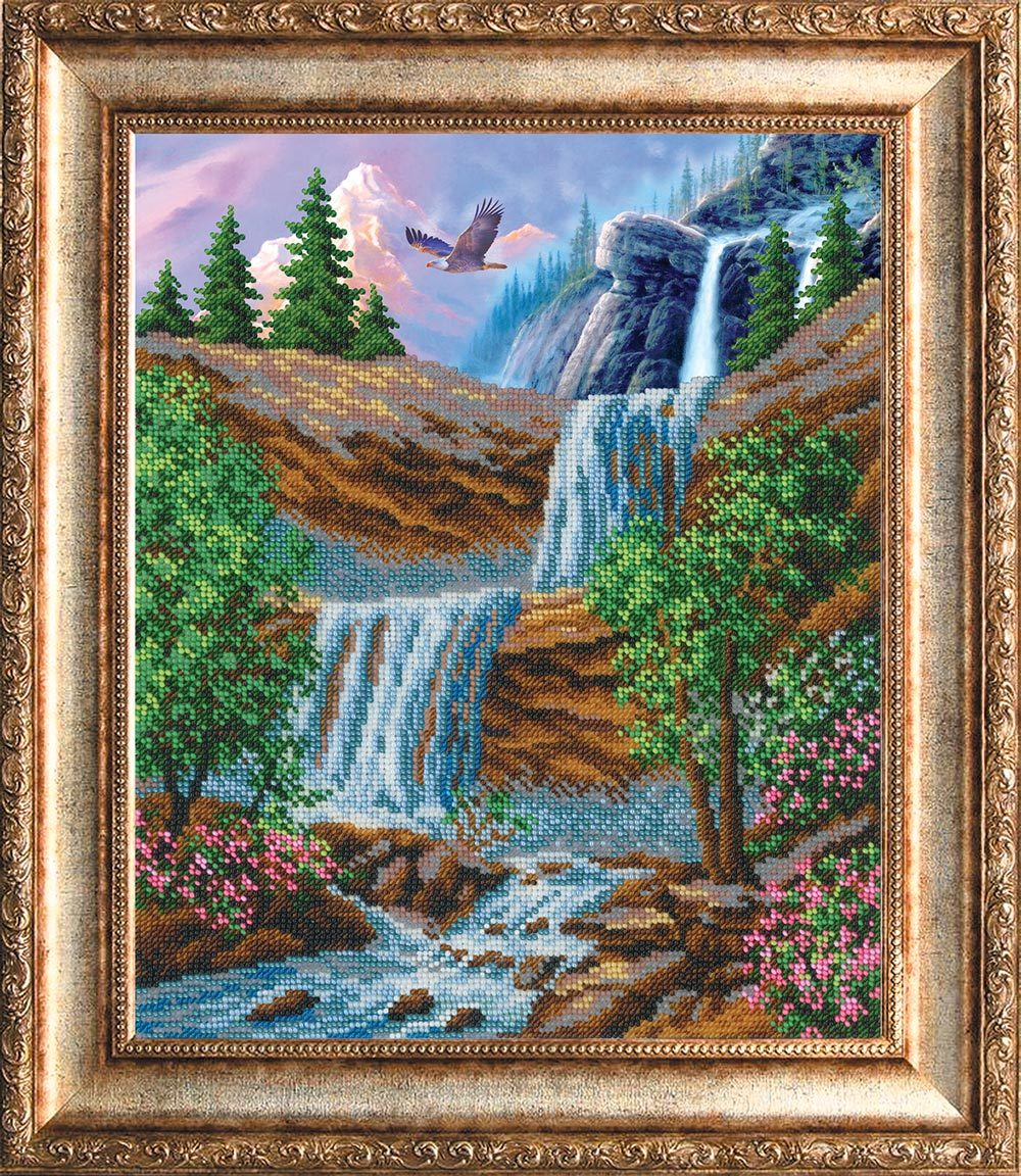 """Набор для вышивки бисером """"Водопад"""""""