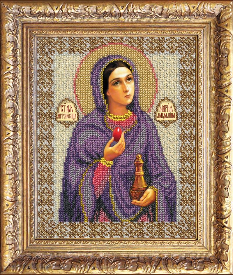 """Набор для вышивки бисером """"Святая Мария Магдалина"""""""