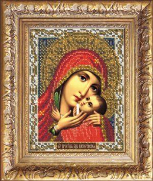 """Набор для вышивки бисером """"Богородица Касперовская"""