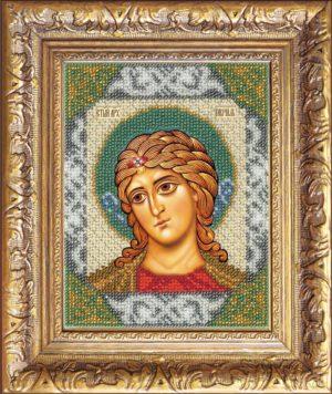 """Набор для вышивки бисером """"Святой Гавриил"""""""