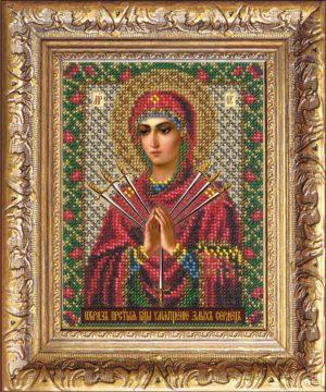 """Набор для вышивки бисером """"Богородица Умягчение злых сердец"""""""