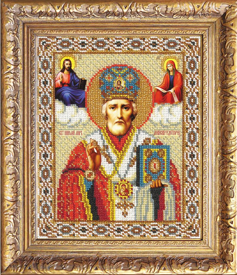 "Набор для вышивки бисером ""Святой Николай Чудотворец"""