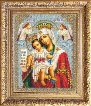 """Набор для вышивки бисером """"Богородица Милующая"""