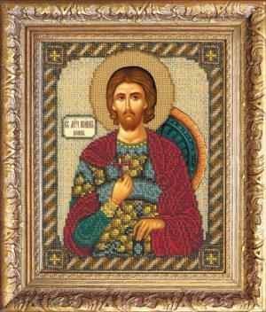 """Набор для вышивки бисером """"Святой Иоанн Воин"""""""