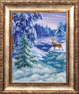 """Набор для вышивки бисером """"В снежном плену"""""""