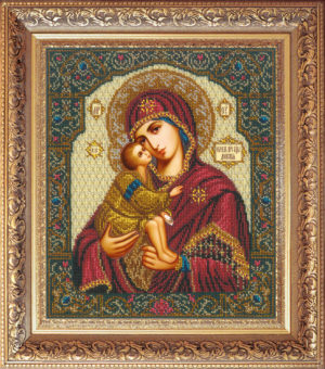 """Набор для вышивки бисером """"Богородица Донская"""""""