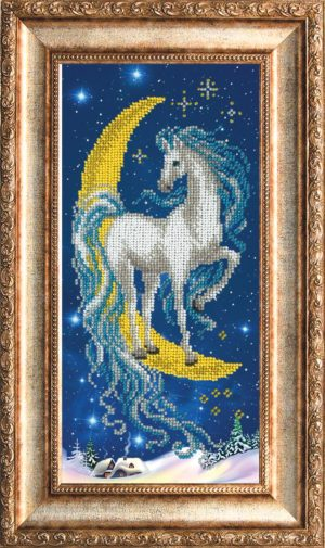 """Набор для вышивки бисером """"Волшебная лошадка"""""""