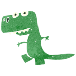 Зеленый дракончик рисунок